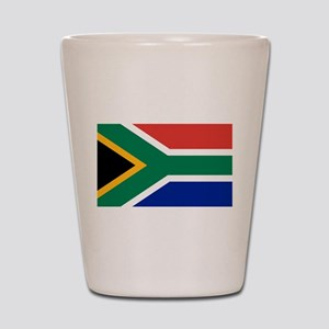 Flag South Africa Shot Glass