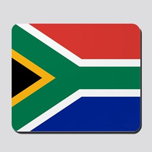 Flag South Africa Mousepad