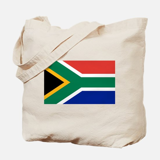 Flag South Africa Tote Bag