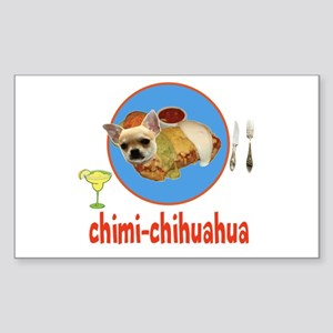 chimi-chihuahua Sticker (Rectangle)