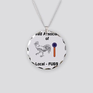 Hookers Union Necklace Circle Charm