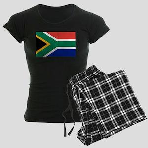 Flag South Africa Women's Dark Pajamas