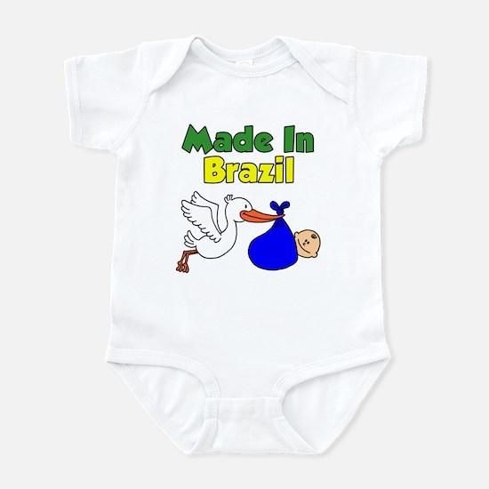 Made In Brazil Boy Infant Bodysuit
