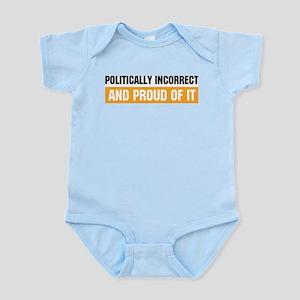 Politically Incorrect Infant Creeper