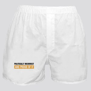 Politically Incorrect Boxer Shorts