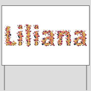 Liliana Fiesta Yard Sign