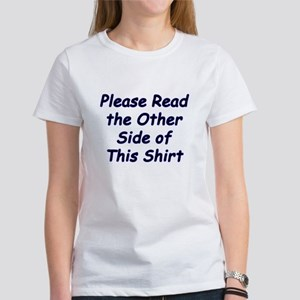 Read the Other Side Women's T-Shirt