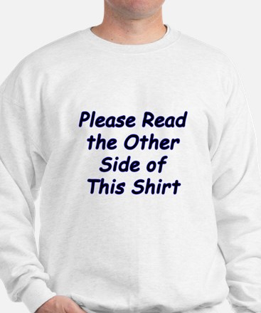 Read the Other Side Sweatshirt