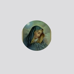 Virgin Mary Assumption Mini Button