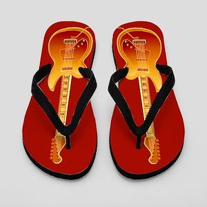 Rock Guitar Flip Flops