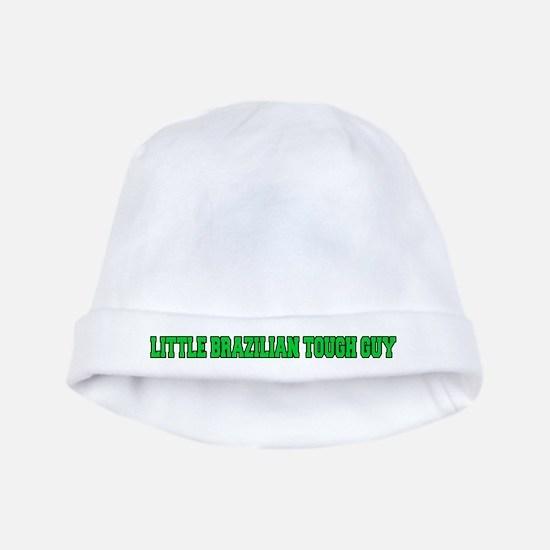 Little Brazilian Tough Guy baby hat