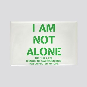 I am not alone! Rectangle Magnet