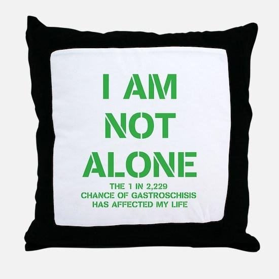 I am not alone! Throw Pillow
