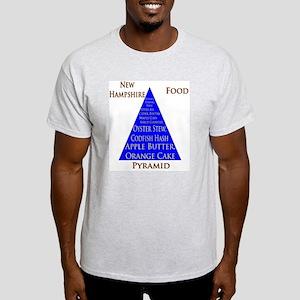 New Hampshire Food Pyramid Light T-Shirt
