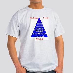 Michigan Food Pyramid Light T-Shirt