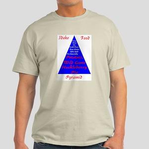 Idaho Food Pyramid Light T-Shirt