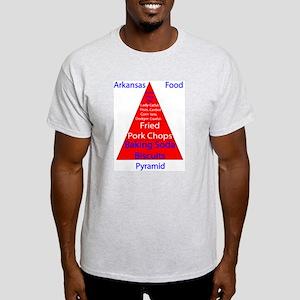 Arkansas Food Pyramid Light T-Shirt