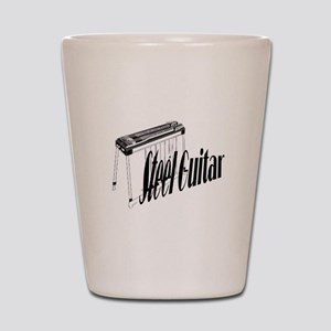 Steel Guitar Shot Glass