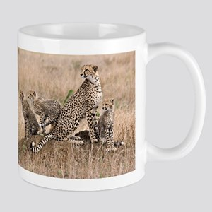 Cheetah Family Mug