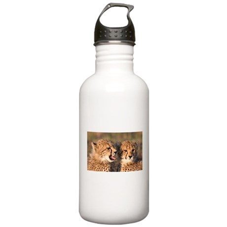Cheetah cubs Stainless Water Bottle 1.0L