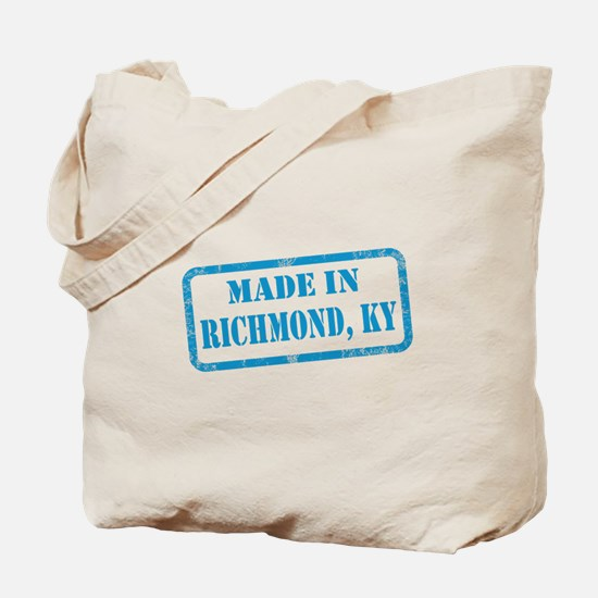 MADE IN RICHMOND Tote Bag