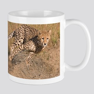 Cheetah On The Move Mug