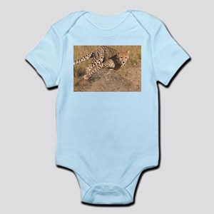 Cheetah On The Move Infant Bodysuit