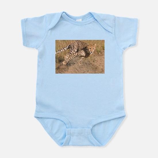 Cheetah On The Move Infant Bodysuit