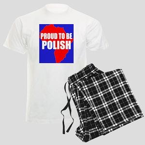 Proud to be Polish Men's Light Pajamas
