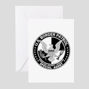CloseThe US Border Patrol SpA Greeting Cards (Pack