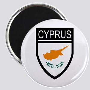 Cyprus Flag Patch Magnet