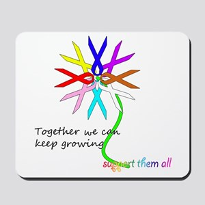Support All Cancer Mousepad
