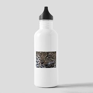 Leopard Portrait Stainless Water Bottle 1.0L
