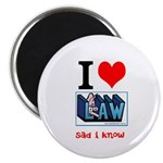 "Law student's 2.25"" Magnet (100 pack)"