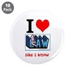 "Law student's 3.5"" Button (10 pack)"