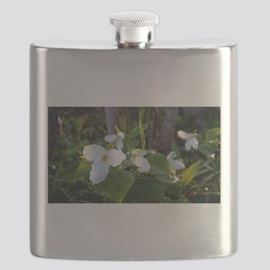 Trilliums in bloom Flask