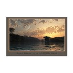 Summer Evening in the BD-082823c Mini Poster Print