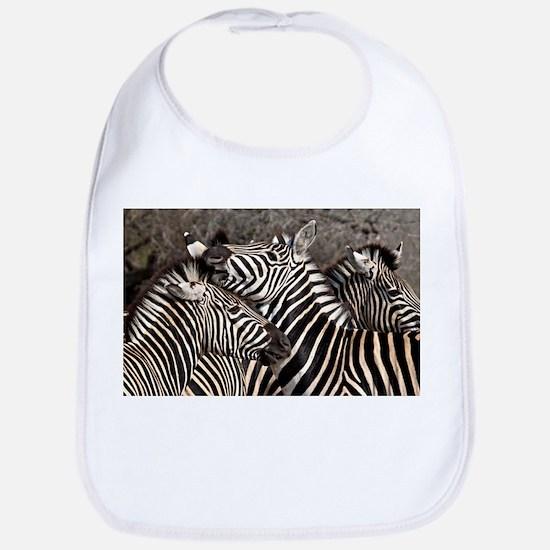Zebras Bib