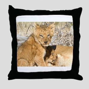 Charleston Cubs Suckling Throw Pillow