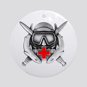 Diving Medical Technician Ornament (Round)