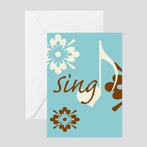 Sing Greeting Card