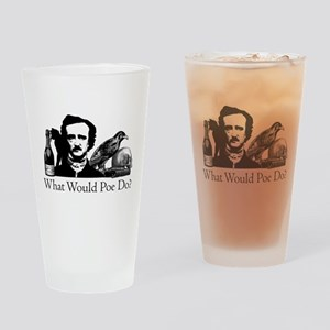 What Would Poe Do? Drinking Glass
