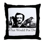 What Would Poe Do? Throw Pillow