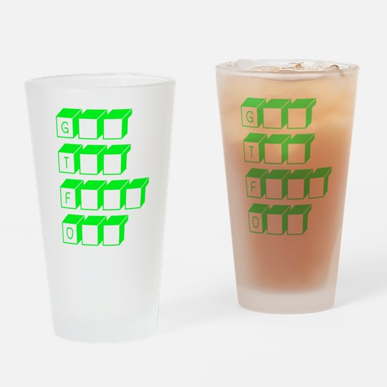 GTFO Drinking Glass