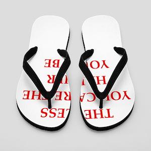 caring Flip Flops