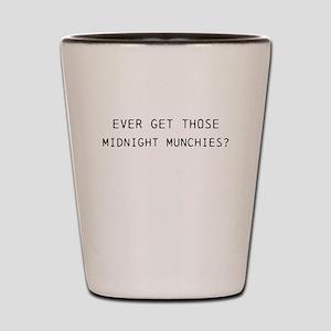 Midnight Munchies Shot Glass