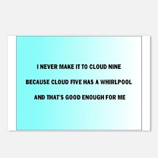 Cute Cloud nine Postcards (Package of 8)