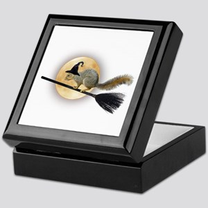 Witch Squirrel Keepsake Box