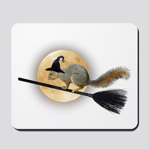 Witch Squirrel Mousepad