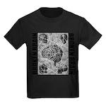 Broken brain Kids Dark T-Shirt